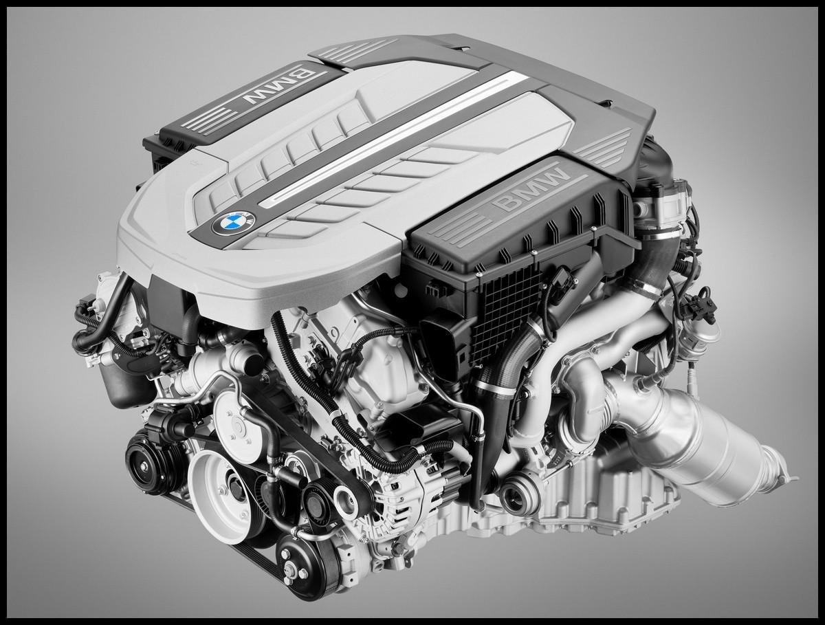 moteur V12 BMW 760i