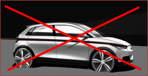 Audi A2 concept la fin