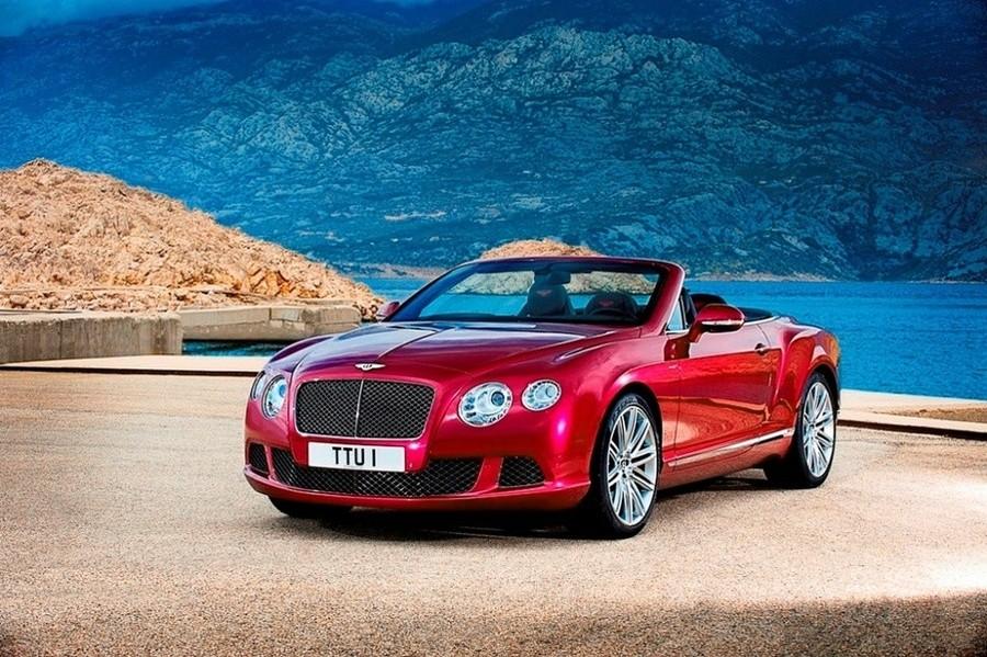 Bentley Continental-GT-Speed-cabriolet