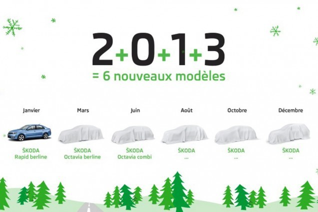 Carte de voeux lancements Skoda 2013 (2)