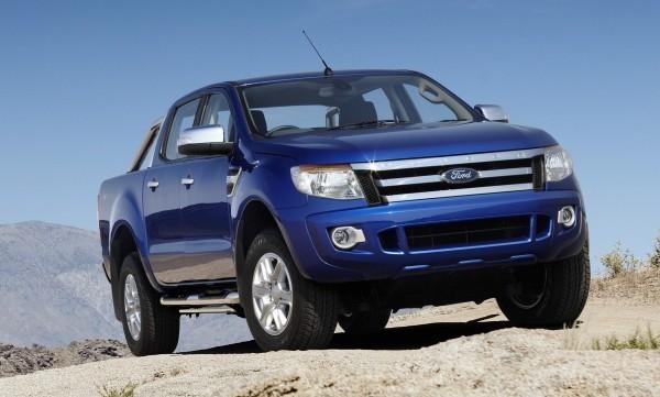 Ford Ranger Wildtrak Double Cabine 2013 Bleu
