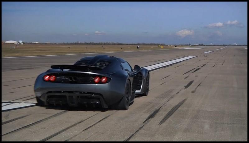 Hennessey Venom GT record du monde du 0 à 300