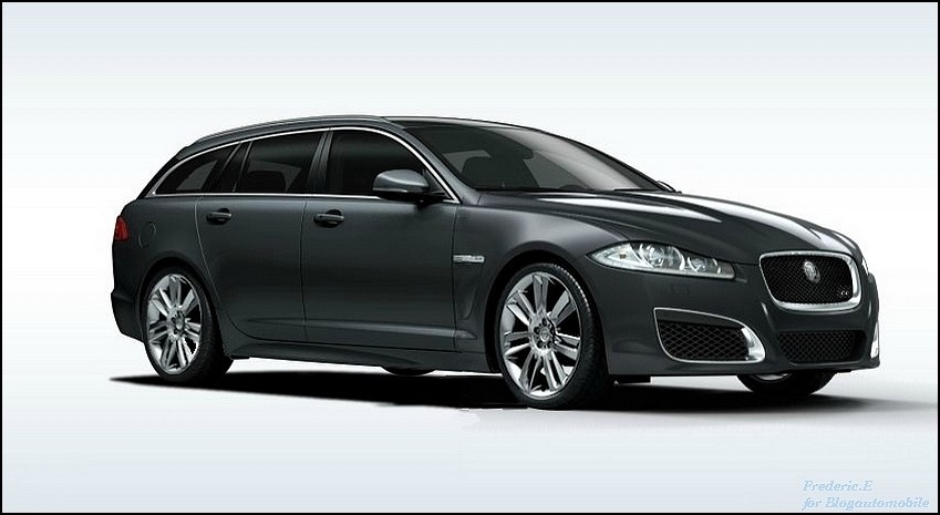 Jaguar XFR Sportbrake by Blogautomobile