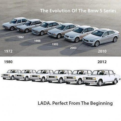 Lada Perfect from the Beginning