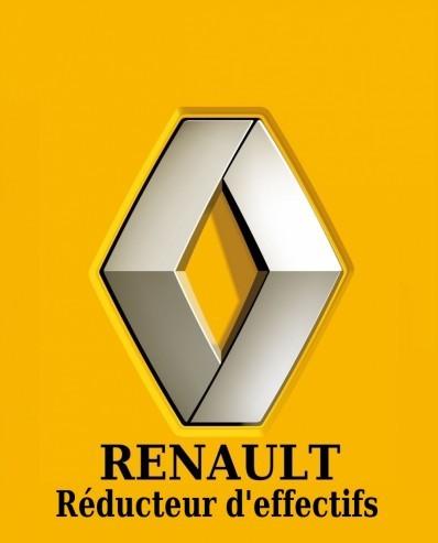 Logo-Renault-détourné-7500 suppressions d'emplois