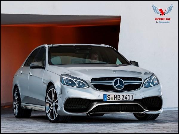 Mercedes E63 AMG 2014 VIRTUEL-CAR for BLOGAUTO