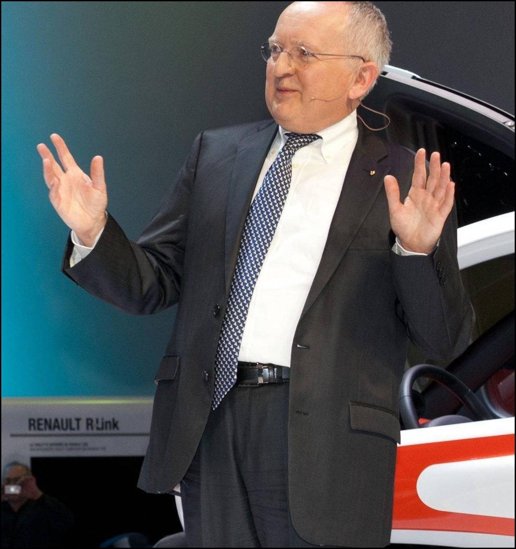 Stephen Norman et la Renault Twizy