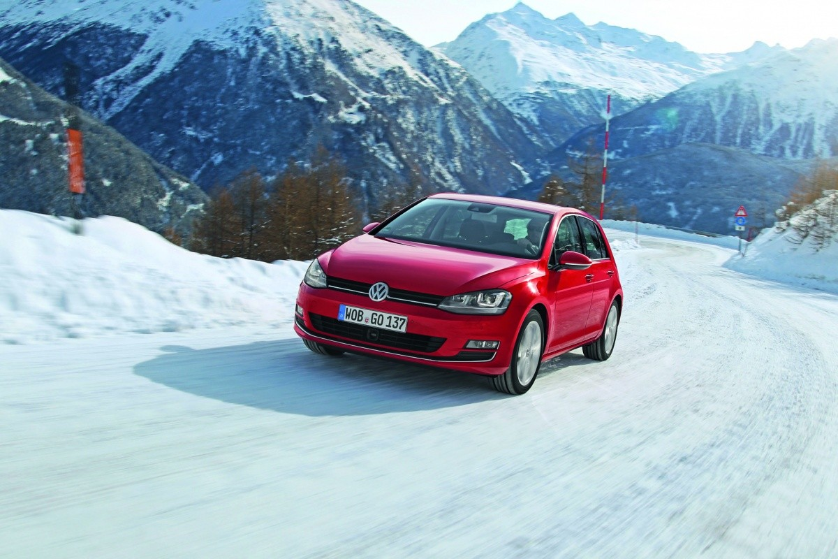 VW Golf 4Motion 2013