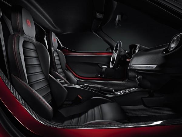 Alfa Romeo 4C habitacle