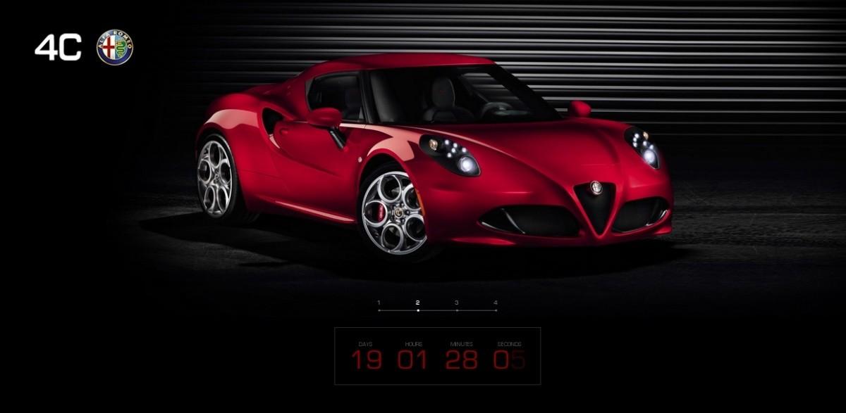 Alfa Romeo 4C le site