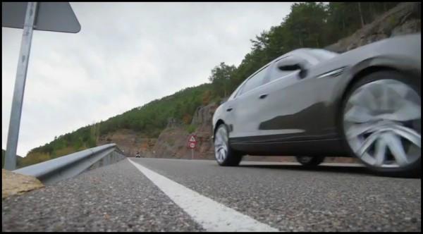Bentley Flying Spur 2013 teaser