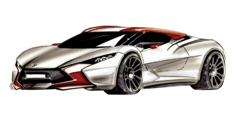 Sbarro coupé hybride concept