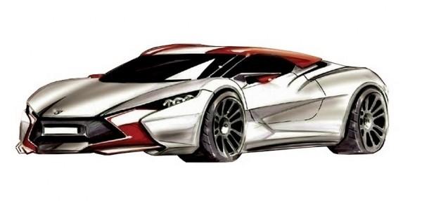 Sbarro coupé hybride concept .1