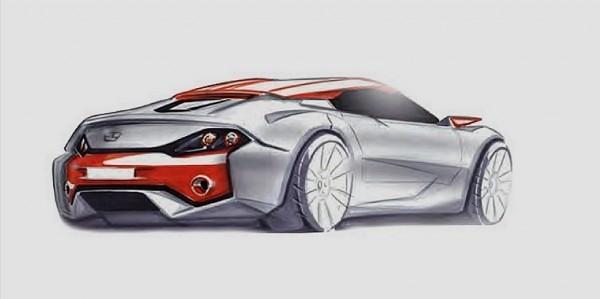 Sbarro coupé hybride concept .2