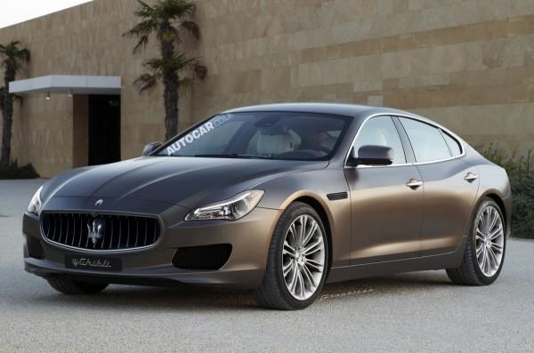 Nuova Maserati Ghibli : Elle devrait nous être présentée à Shangha?