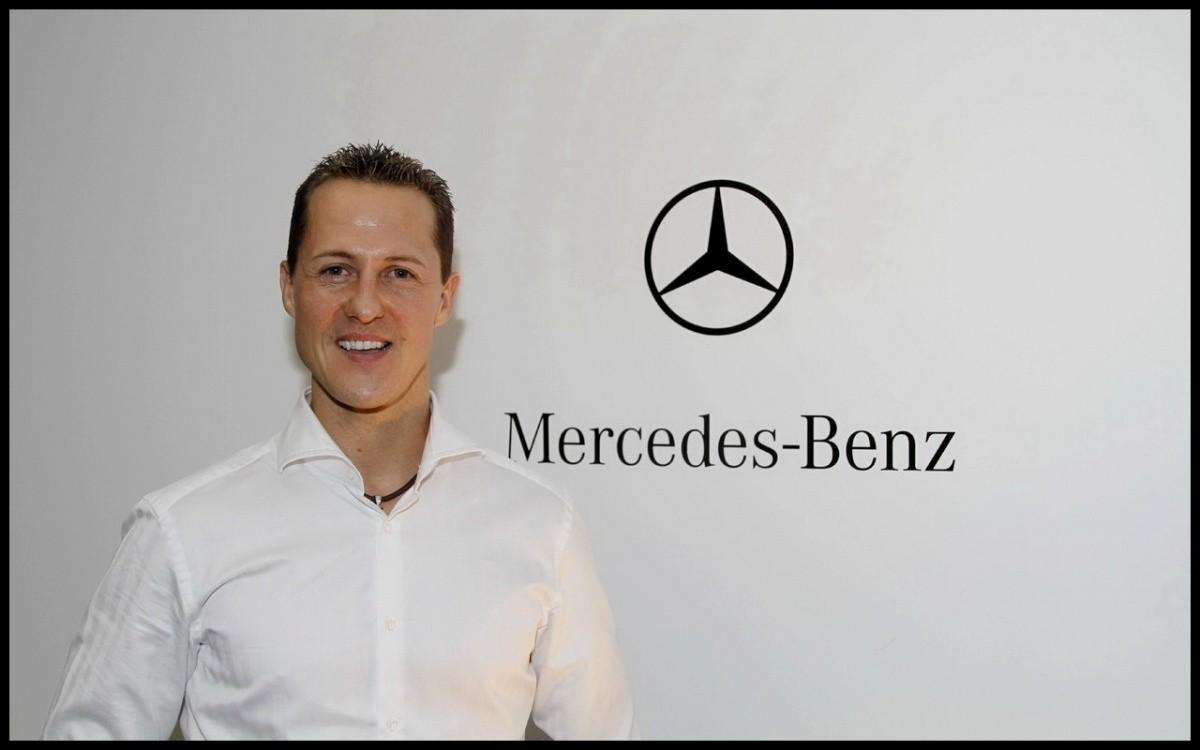 michael schumacher reste chez Mercedes Benz pour les voitures de série