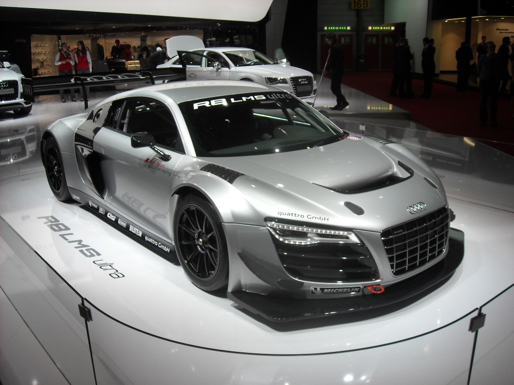 Audi R8 LMS Genève Genève 2013 : R8 LMS et R18, lEndurance par Audi