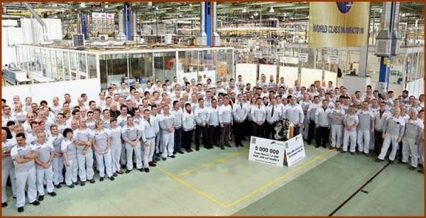 Fiat fête 5 millions de moteurs 1.3 L MJT