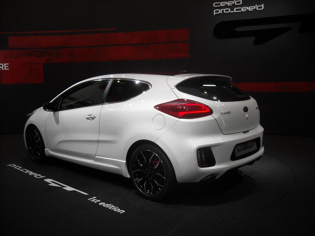 Kia Pro Ceed GT 7 Genève 2013 : Kia Ceed GT & Pro Ceed GT (galerie)