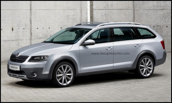 Skoda Octavia Combi Scout by T.Chin.1