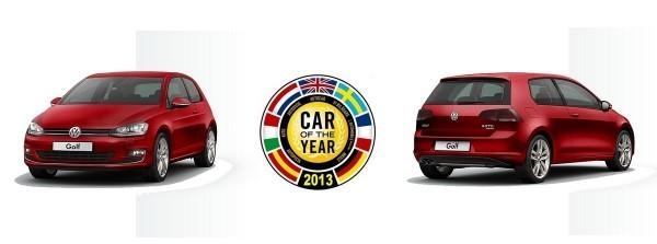 Car of the Year 2013 : C'est pour la Volkswagen Golf 7