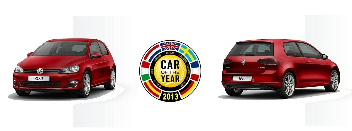 VW Golf  voiture de l'année 2013