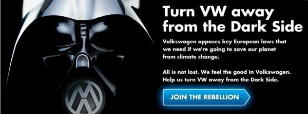 VW et Greenpeace font la paix
