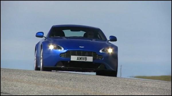 Aston martin vantage V8 S trailer