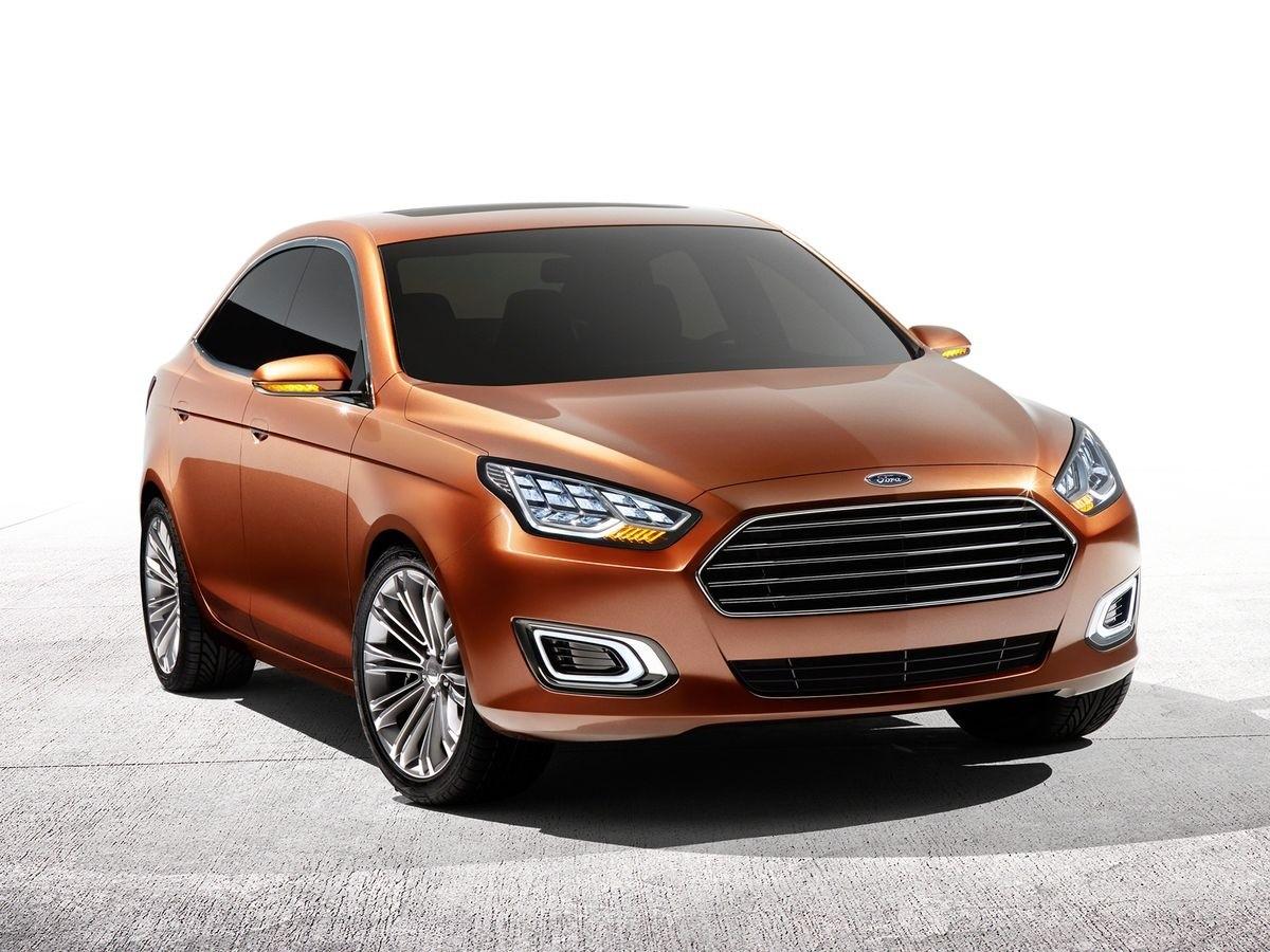 Ford Escort Concept Shanghai 2013 (1)
