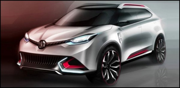 MG CS SUV Concept.0