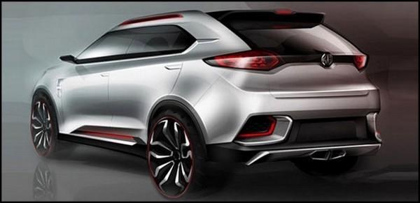 MG CS SUV Concept.1