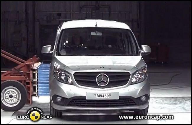 Mercedes Benz Citan EuroNcap