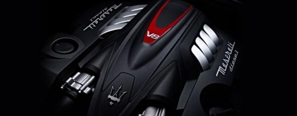 Moteur V8 diesel Maserati