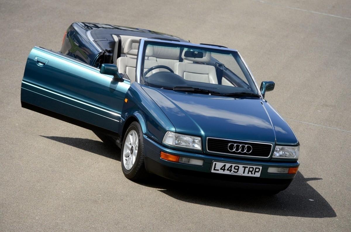 Audi 80 Cabriolet de la princesse Diana