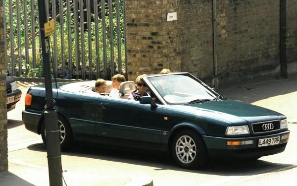 Audi 80 Cabriolet de la princesse Diana.2