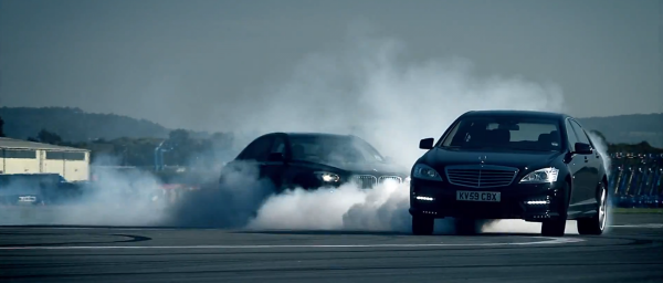 BMW 760Li vs Mercedes S63 AMG  - 2