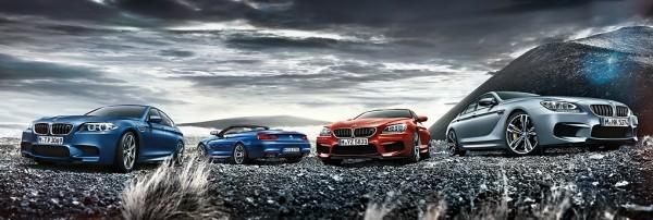 BMW M5 et M6 Package Compétition.
