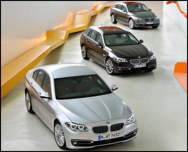 BMW Serie5 restylée Berline-Touring-GT