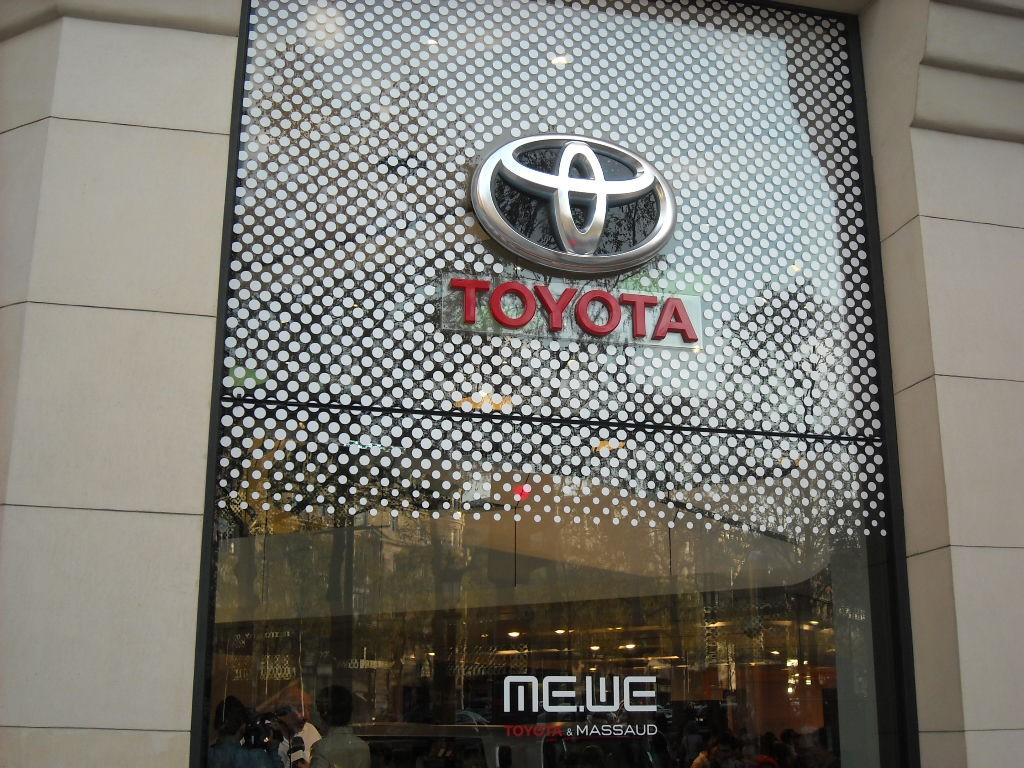 Façade Rendez-Vous Toyota
