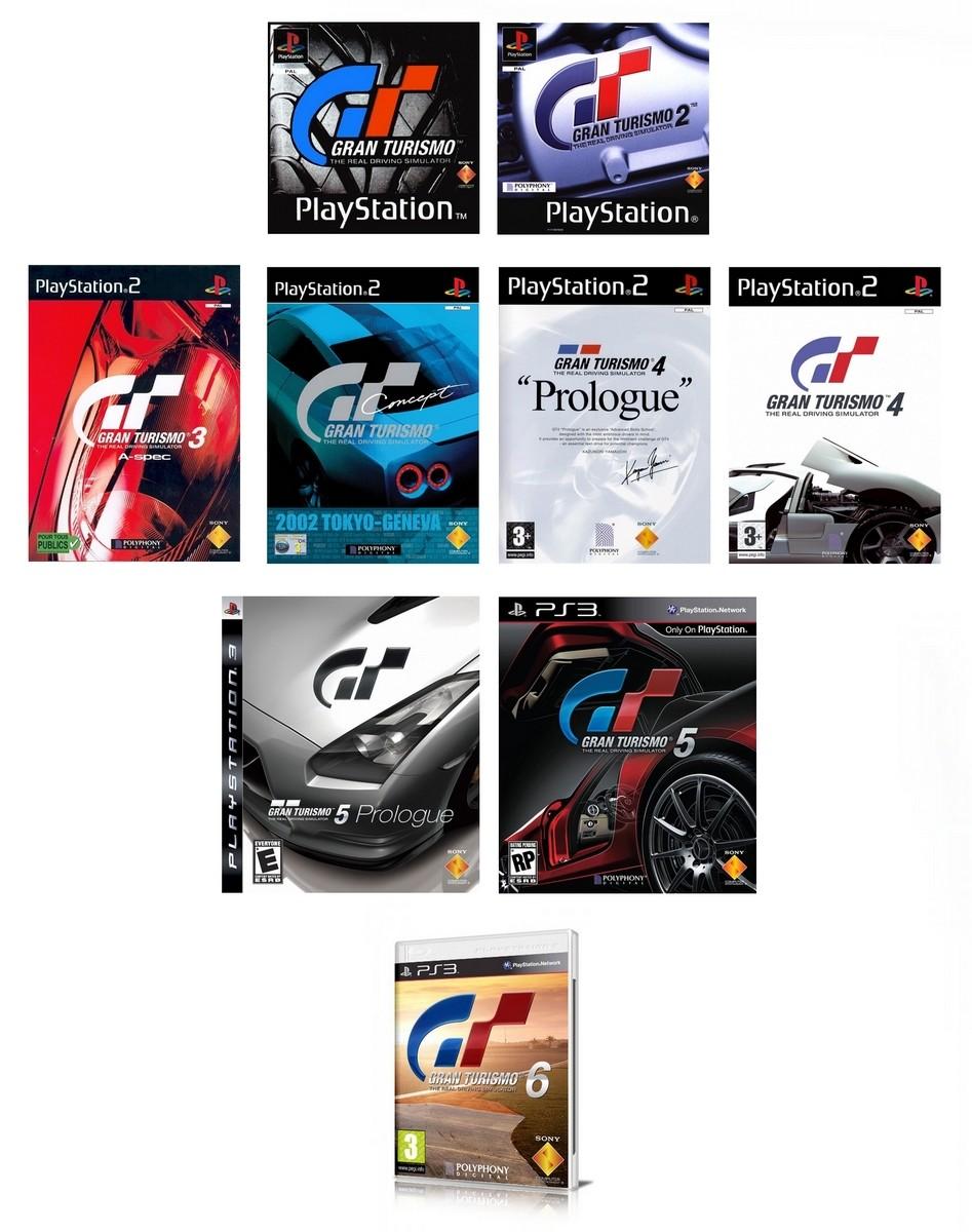 Gran Turismo Polyphony Digital-Sony