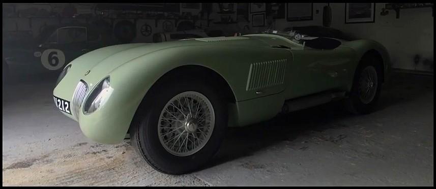 Jaguar Type C au mille miglia 2013