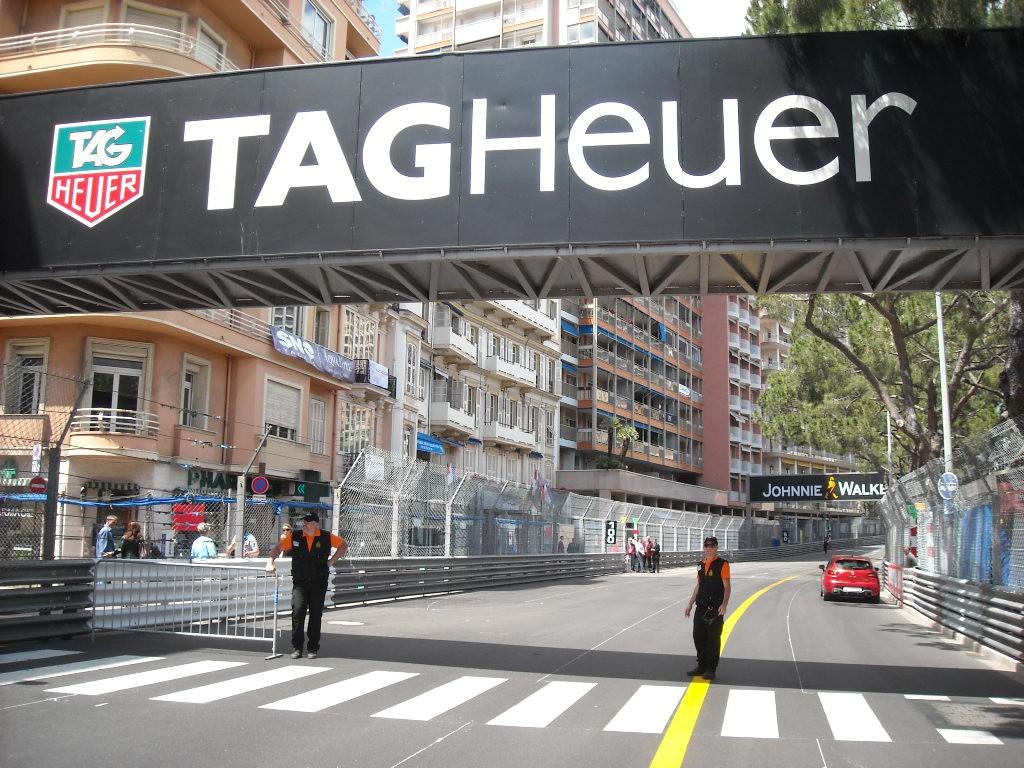 Ligne de départ Monaco