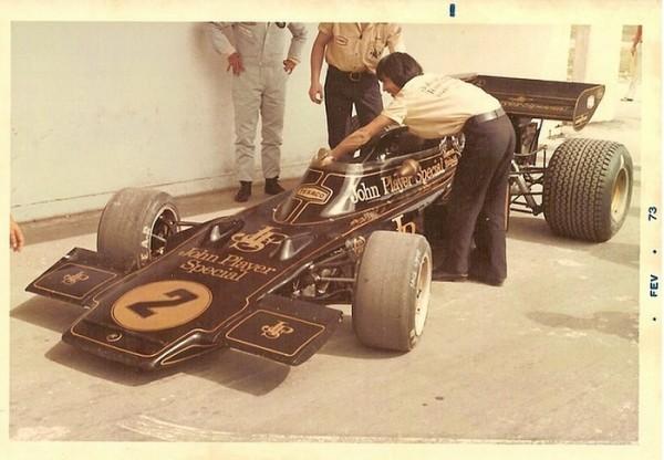 Lotus-Ford 73 d'Emerson Fittipaldi au GP d'Argentine Bueno Aires par Antônio Carlos Bacchieri Duarte