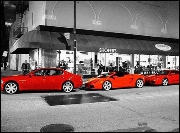 Maserati - Lamborghini - Ferrari