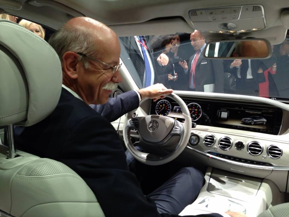 Mercedes benz classe s 2014 w222 majestueuse classe for Mercedes classe b interieur