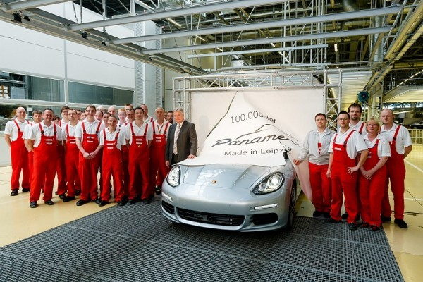 Porsche Panamera 100.000 ex