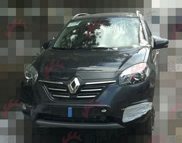 Renault Koleos restylé une deuxième fois.2