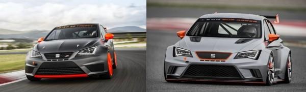 Seat Ibiza SC Trophy et Leon Cup Racer
