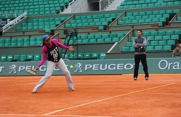 Serena Williams Spons. Peugeot RG 2013