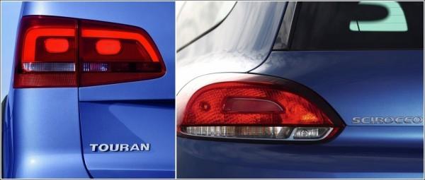 Volkswagen  1.5 million de Touran et 1.0 million de Scirocco